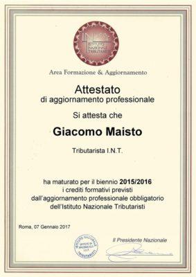 Giacomo-Maisto-Attestato-Formazione-INT-Biennio2015-2016-768x1086